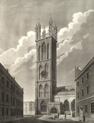 View of St Stephen's church , Bristol